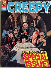 Creepy (1964) -50- 50th anniversary special issue!