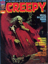 Creepy (Warren) -58- Special Halloween Horror Issue!