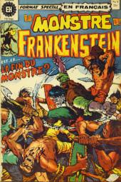 Le monstre de Frankenstein (Éditions Héritage) -4- Mort du monstre!