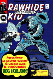 Rawhide Kid (Éditions Héritage) -1- Le redoutable Doc Holliday!