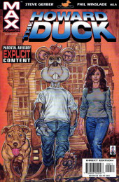 Howard the Duck (2002) -4- Boarding house of mystery