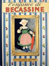 Bécassine -1b50- L'enfance de Bécassine