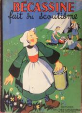 Bécassine -17b1949- Bécassine fait du scoutisme