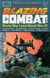 Blazing Combat: World War I and World War II (1994) -2- Blazing Combat: World War I and World War II #2