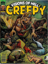 Creepy (Warren) -108- Visions of Hell!