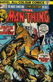 Man-Thing (1973) -13UK- Red Sails at 40,000 Feet!