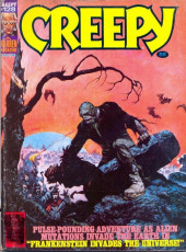 Creepy (Warren) -128- Frankenstein Invades the Universe!