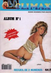 BD Climax  - Album N°1 (n°13 et n°15)