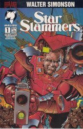 Star Slammers -1- The Minoan Agendas Chapter One: The Prisoner