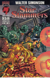 Star Slammers -3- The Minoan Agendas Chapter Three: The Invaders!