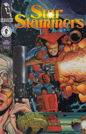Star Slammers -SP- The Minoan Agendas Chapter Five: The Contract