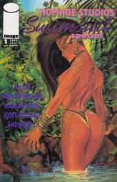 Homage Studios Swimsuit Special (1993) -1- Homage Studios Swimsuit Special #1