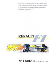 La rage de gagner (Renault F1) -01- Brésil