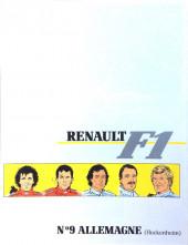 La rage de gagner (Renault F1) -09- Allemagne