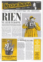 Nestor Burma (Feuilleton) -12- Corrida aux Champs Elysées - Numéro 3