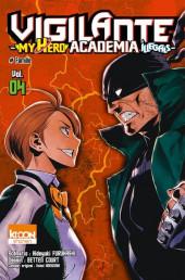 Vigilante - My Hero Academia Illegals -4- Tome 4