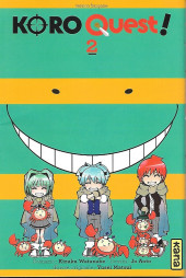 Koro Quest! -2- Tome 2