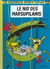 Spirou et Fantasio -12d2016- Le nid des Marsupilamis