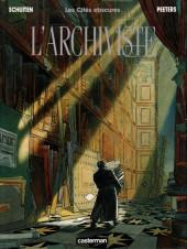 Les cités obscures -H02b- L'archiviste