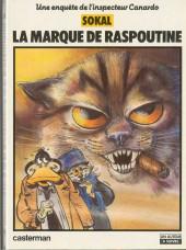 Canardo (Une enquête de l'inspecteur) -2- La marque de Raspoutine