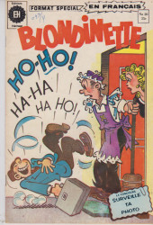 Blondinette (Éditions Héritage) -20- a qui ce numero ?