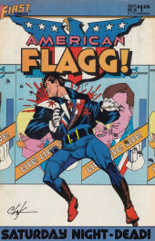American Flagg! (1983) -25- Mad Dogs & Englishmen! Part 3