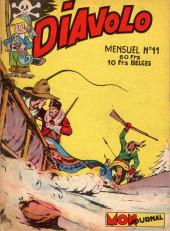 Diavolo (2e Série - Aventures et voyages) -11- Rudy le trappeur : Cerf Agile