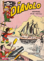 Diavolo (2e Série - Aventures et voyages) -14- Diavolo : Dans la Mer des Sargasses