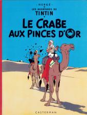 Tintin (Historique) -9C3bis- Le crabe aux pinces d'or