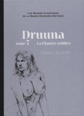 Les grands Classiques de la Bande Dessinée érotique - La Collection -6644- Druuna - tome 7 La Planète oubliée