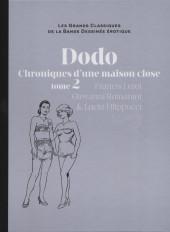 Les grands Classiques de la Bande Dessinée érotique - La Collection -6771- Dodo Chroniques d'une maison close - tome 2