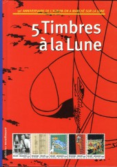 Tintin - Divers -51TL- 5 Timbres à la Lune