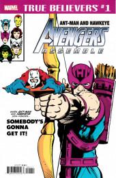 True believers: Ant-Man (2018) - True Believers: Ant-Man and Hawkeye: Avengers Assemble