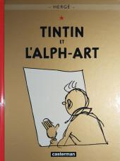 Tintin (Historique) -24D2014- Tintin et l'Alph-Art