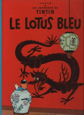 Tintin (Historique) -5C1- Le lotus bleu