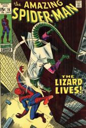 Amazing Spider-Man (The) (1963) -76- The Lizard Lives!