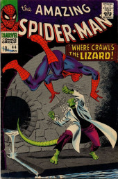 Amazing Spider-Man (The) (1963) -44- Where Crawls the Lizard!