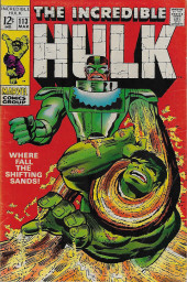 Incredible Hulk (The) (Marvel comics - 1968) -113- Where Fall The Shifting Sands ?