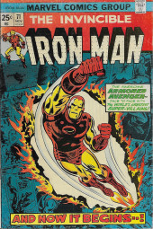 Iron Man Vol.1 (Marvel comics - 1968) -71- Battle: Tooth and Yellow Claw!