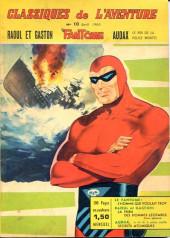 Les héros de l'aventure (Classiques de l'aventure, Puis) -10- Le Fantôme : L'homme qui voulait trop
