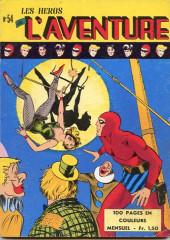 Les héros de l'aventure (Classiques de l'aventure, Puis) -54- Le Fantôme : La jeune fille du cirque