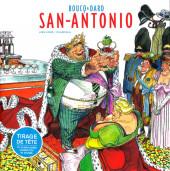 (AUT) Boucq -1TT- San-Antonio - Artbook Boucq-Dard