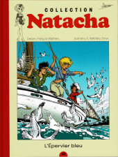 Natacha - La Collection (Hachette) -22- L'épervier bleu