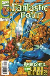 Fantastic Four Vol.3 (Marvel comics - 1998) -15- Ambushed... by the Golden Avengers?!
