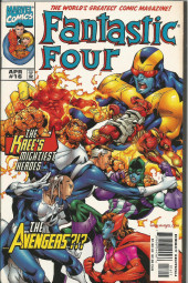 Fantastic Four Vol.3 (Marvel comics - 1998) -16- The Kree's Mightiest Heroes... ...The Avengers?!?