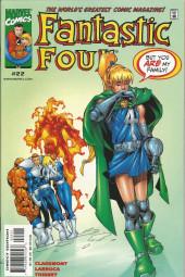 Fantastic Four Vol.3 (Marvel comics - 1998) -22- Issue #22