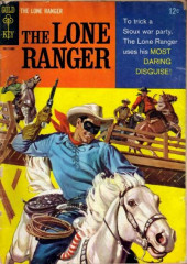 Lone Ranger (The) (Gold Key - 1964) -3- The Most Daring Disquise