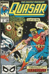 Quasar (1989) -2- Destiny admist the ruins