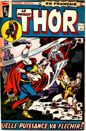 Thor (Éditions Héritage) -3- La puissance déchaînée!!!