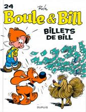 Boule et Bill -02- (Édition actuelle) -24b2015- Billets de Bill